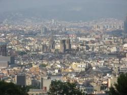 Pohled na Barcelonu, zdroj: vlastní fotoarchív