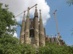 La Sagrada Familia, zdroj: vlastní archív při návštěvě Barcelony 2012
